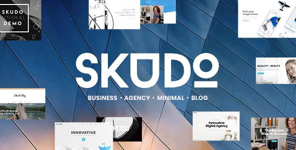 Skudo v1.3 — Responsive Multipurpose WordPress Theme