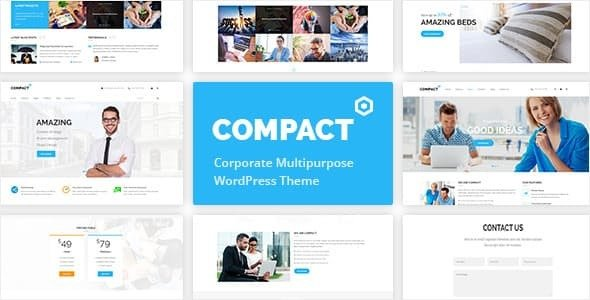 Compact v1.3.0 — Corporate Multipurpose WordPress Theme