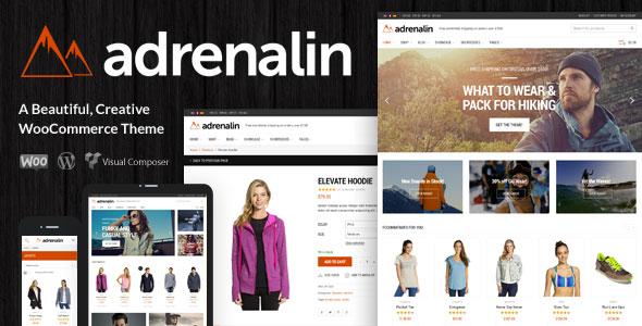 Adrenalin v2.0.3 — Multi-Purpose WooCommerce Theme