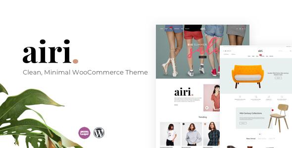 Airi v1.0.6 — Clean, Minimal WooCommerce Theme