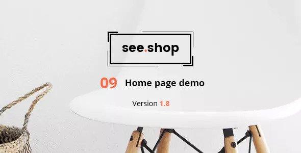 See Shop Furniture v1.8 — Interior RTL Responsive WooCommerce