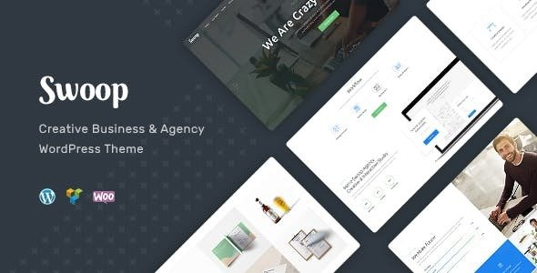 Swoop v1.1.1 — Web Studio & Creative Agency Theme
