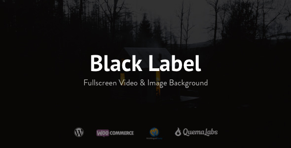 Black Label v4.0.10 — Fullscreen Video & Image Background