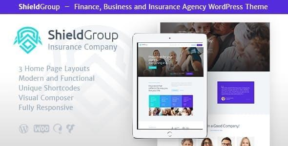 ShieldGroup v1.1.1 — An Insurance & Finance WordPress Theme