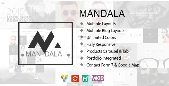 Mandala v1.9.1 — Responsive Ecommerce WordPress Theme