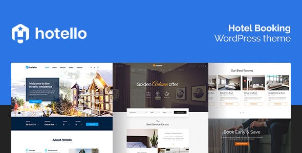 Hotello v1.2.5 — Hotel Booking WordPress theme