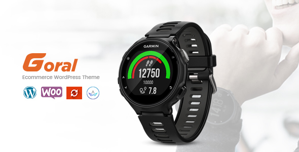 Goral SmartWatch v1.6 — Single Product Theme