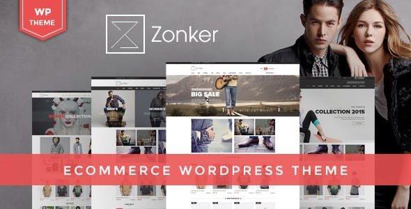 Zonker v1.6.1 — WooCommerce WordPress Theme