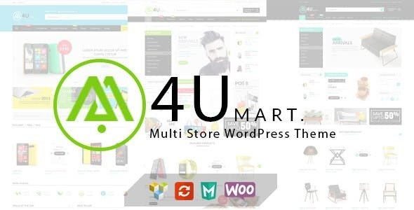 M4U v1.4.1 — Multi Store Responsive WordPress Theme