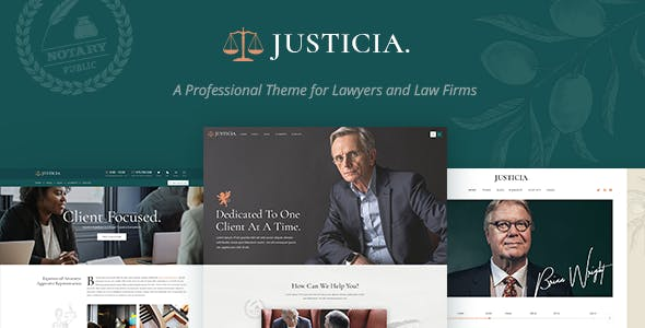 Justicia v1.1 — Lawyer and Law Firm Theme