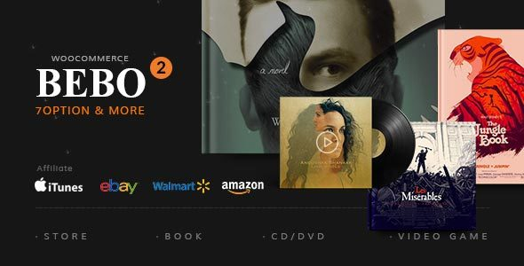 BEBO v2.1.2 — Book Issue CD/DVD Store Publish Library WP