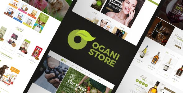 Ogani v1.2.3 — Organic Food Store Theme for WooCommerce WordPress