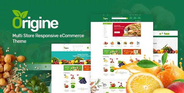 Origine v1.0.1 — Organic Theme for WooCommerce WordPress