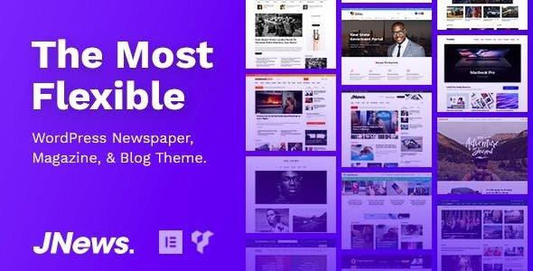 JNews v4.0.4 — WordPress Newspaper Magazine Blog AMP Theme