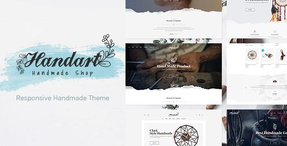 Handart v1.0.1 — Handmade Theme for WooCommerce