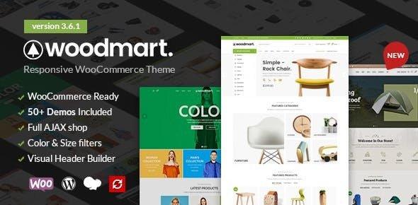 WoodMart v3.6.1 — Responsive WooCommerce Theme