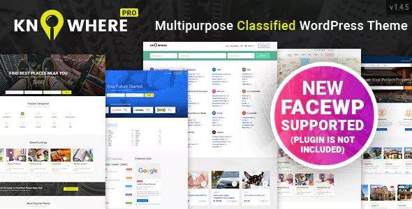 Knowhere Pro v1.4.7 — Multipurpose Directory Theme