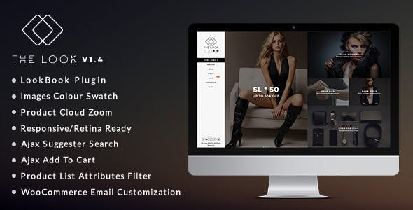 The Look v1.6 — Clean, Responsive Magento Theme