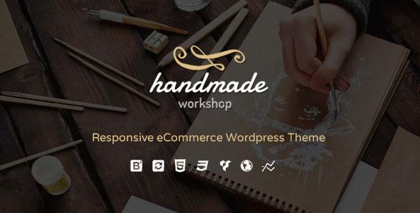 Handmade v4.5 — Shop WordPress WooCommerce Theme