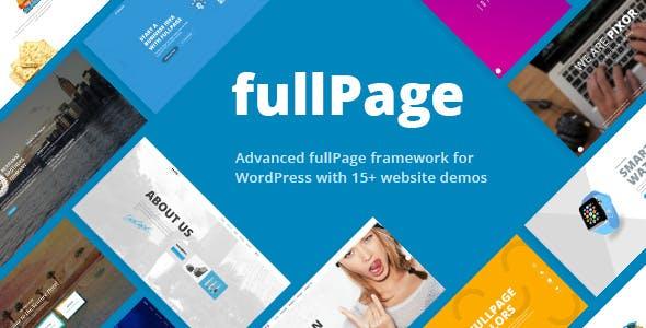 FullPage v1.4.7 — Fullscreen Multi Concept Theme