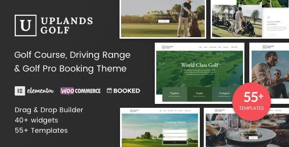 Uplands v1.3.1 — Golf Course WordPress Theme