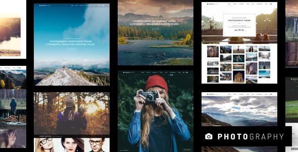 Photography v5.5.1 — Responsive Photography Theme