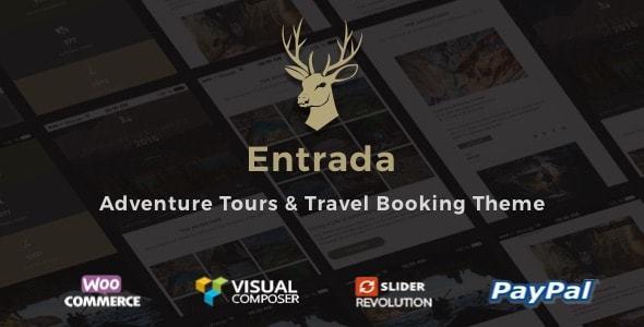 Entrada v3.7.8 — Tour Booking & Adventure Tour
