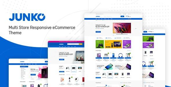 Junko v1.0 — Technology Theme for WooCommerce WordPress