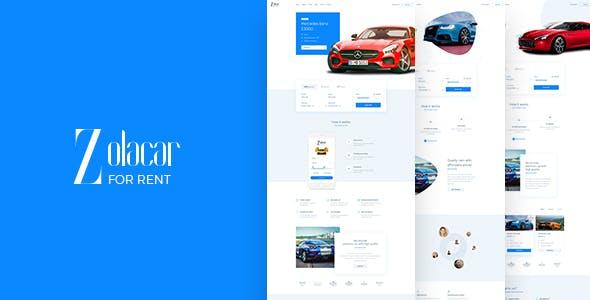 Leo Rent Car — Car Rental Website