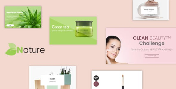 Bos Nature — Skin Care and Beauty Spa Prestashop Theme