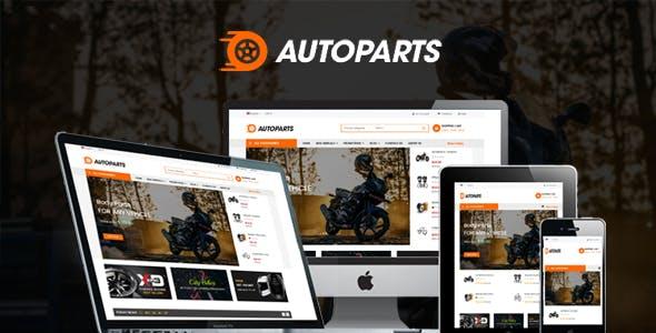 Sj Autoparts — Multipurpose Responsive Auto Parts VirtueMart 3 Template