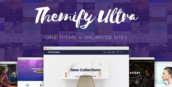 Ultra v2.2.9 — Themify WordPress Theme