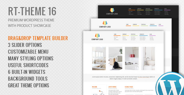 RT-Theme 16 v2.5.4 — Corporate WordPress Theme