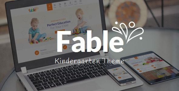 Fable v3.3 — Children Kindergarten WordPress Theme