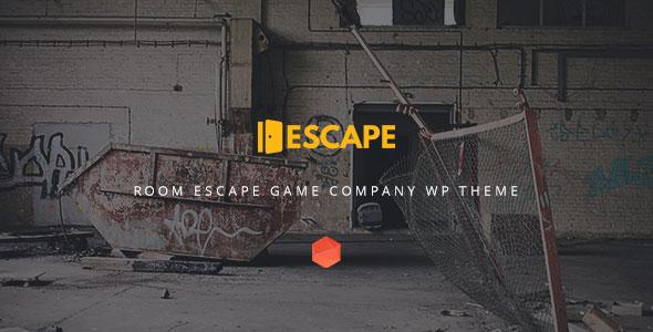 Escape v2.0 — Real Life Room Escape Game Company WP Theme