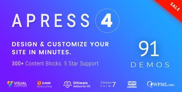 Apress v4.0.2 — Responsive Multi-Purpose Theme