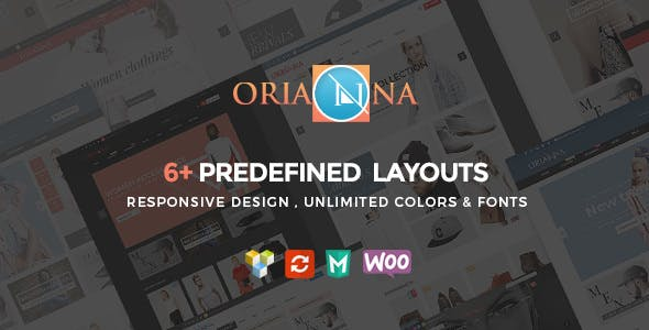 Orianna v1.4.2 — Responsive WooCommerce Fashion Theme