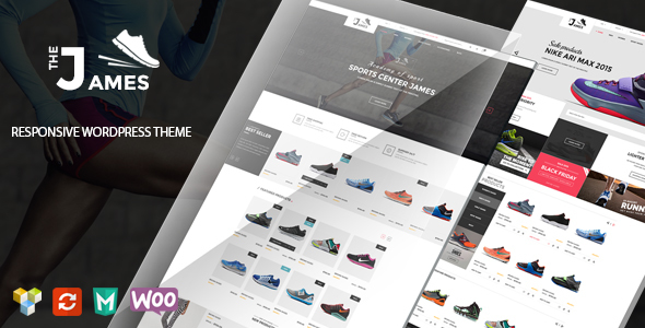 James v1.5.1 — Responsive WooCommerce Shoes Theme