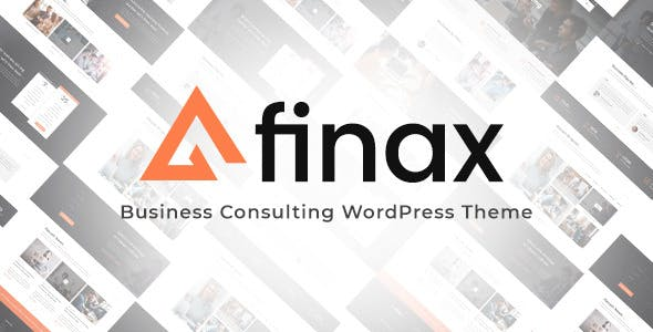 Finax v1.0 — Responsive Business Consulting Theme