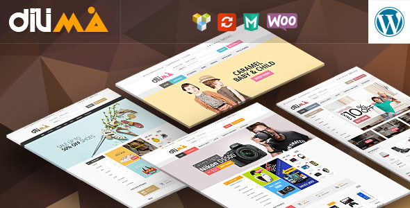 Dilima v1.3 — Mega Store Responsive WooComerce Theme