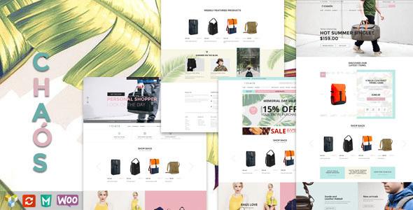 Chaos v1.4.2 — Responsive Bag Shop Theme
