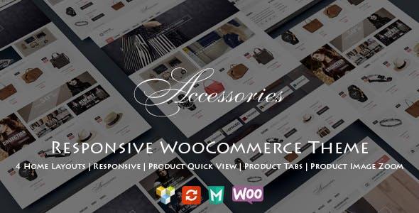 WooAccessories v1.2 — Responsive WordPress Theme