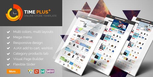 TimePlus v1.2.1 — Mega Store Responsive WooCommerce Theme