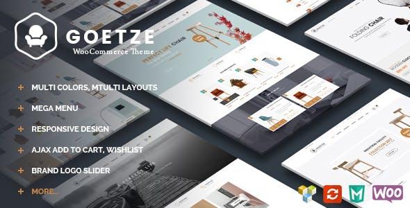 Goetze v1.3 — Responsive WooCommerce WordPress Theme