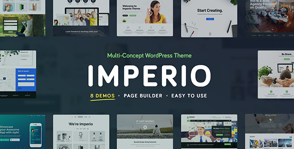 Imperio v1.9 — Business, E-Commerce, Portfolio & Photography