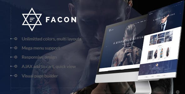 Facon v1.2 — Fashion Responsive WordPress Theme
