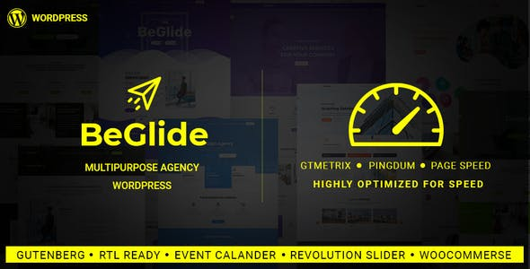 BeGlide v1.0 — Corporate Business Consultant Agency