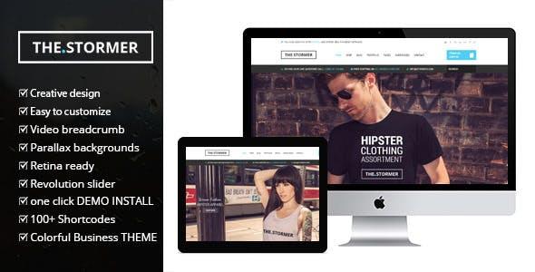 Fashion Stormer v2.0 — eCommerce Fashion Theme