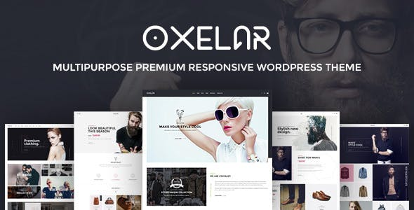 Oxelar v1.2.1 — Fashion Responsive WordPress Theme