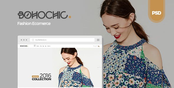 Bohochic v1.0 — Ecommerce PSD Template